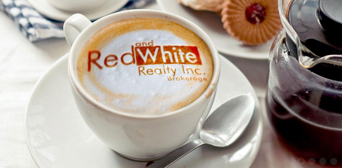 red and white realty