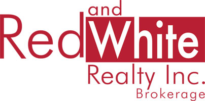 Red and White Realty Logo